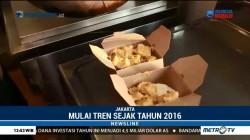 Tren Makanan Siap Saji via Ojek Online