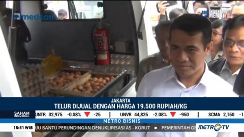 Harga Telur Ayam Naik, Menteri Pertanian Melakukan Operasi Pasar