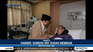 Habibie Jenguk SBY di RSPAD
