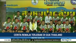 Cerita Remaja Terjebak di Gua Thailand