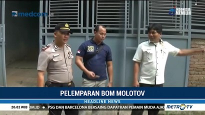 Polisi Periksa Empat Saksi Terkait Pelemparan Bom Molotov ke Rumah Mardani