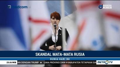 Wanita Terduga Agen Rusia Ditangkap di AS
