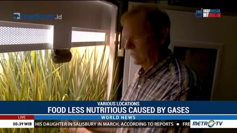Food Less Nutritious Caused by Gases