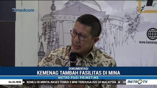 Kemenag Tambah Fasilitas Bagi Jemaah Haji di Mina