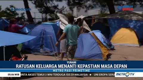 Imigran Suriah di Eropa Terlantar