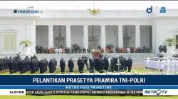 Pelantikan Prasetya Prawira TNI-Polri