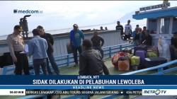 Polres Lembata Sidak Kapal di Pelabuhan Lewoleba