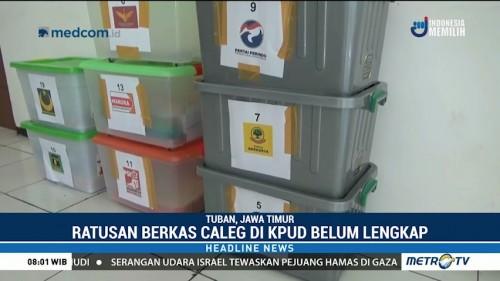 KPU Tuban Temukan Ratusan Berkas Bacaleg Tak Lengkap