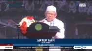 Pesan Ma'ruf Amin untuk Masyarakat Indonesia