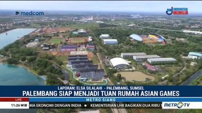 Palembang Siap Gelar Asian Games 2018