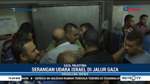 Serangan Udara Israel Tewaskan 4 Warga Gaza