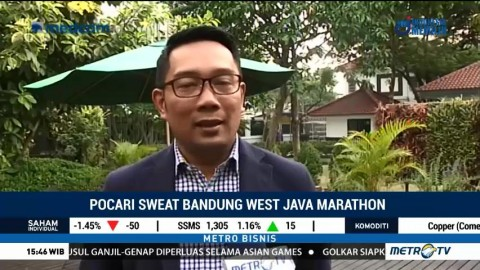 Bandung West Java Marathon 2018 Diharapkan Tingkatkan