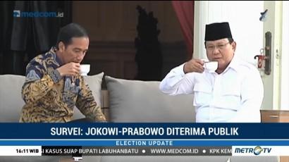 Survei: Prabowo Puncaki Cawapres Terkuat Jokowi