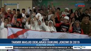 Takmir Masjid Deklarasi Dukung Jokowi