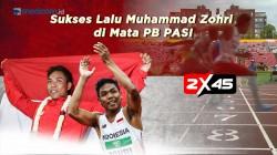 Sukses Lalu Muhammad Zohri di Mata PB PASI