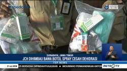 Jemaah Calon Haji Diimbau Selalu Bawa Botol Spray untuk Cegah Dehidrasi