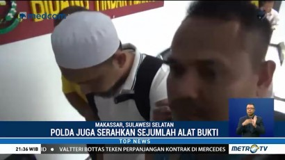 Polda Sulsel Serahkan Bos Abu Tours ke Kejaksaan