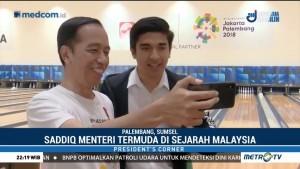 Cerita Jokowi Sehari Bersama Menteri Termuda Malaysia