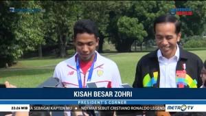 Jokowi Sebut Zohri