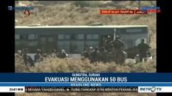 Pemerintah Suriah Lanjutkan Evakuasi Warga dari Wilayah Konflik