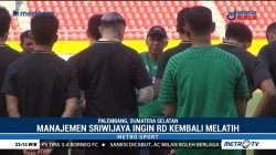 Manajer Sriwijaya FC Ingin RD Kembali Melatih