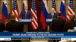 Trump akan Undang Putin ke Gedung Putih