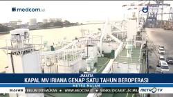 MV Iriana, Kapal Buatan Anak Bangsa Genap Setahun Beroperasi
