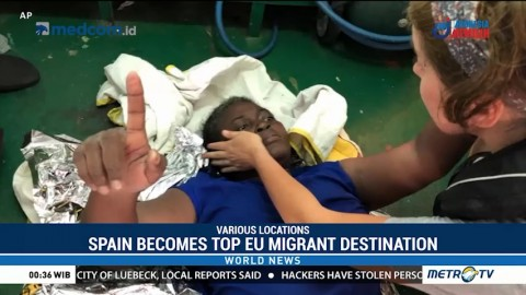Spain Becomes Top EU Migrant Destination; Italy Accused of