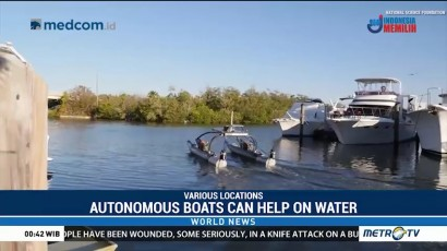 Autonomous Boats Can Offer Help on the Water