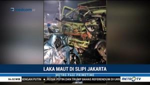 Kecelakaan Maut di Slipi, Satu Orang Tewas