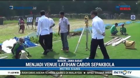 Renovasi Stadion Pajajaran Capai 95 Persen