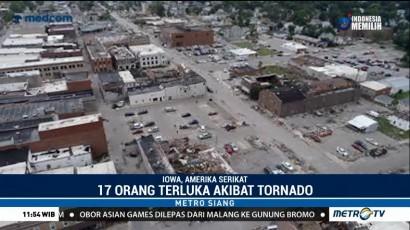 17 Orang Terluka  Akibat Tornado di AS
