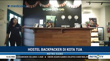 Melihat Fasilitas Hostel <i>Backpacker</i> di Kota Tua