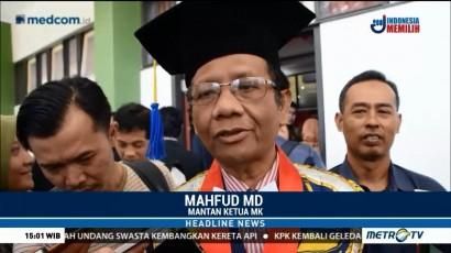 Mahfud MD Akui Belum Ada Pembahasan Soal Cawapres Jokowi