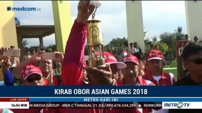 Api Obor Asian Games Tiba di Situbondo