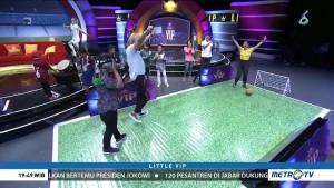 Bintang Tamu Little VIP Ditantang Main Bola dengan Mata Tertutup
