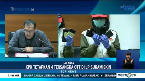Empat Orang Jadi Tersangka OTT di Lapas Sukamiskin
