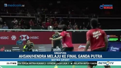 Dua Wakil Indonesia Tembus Final Singapore Open 2018