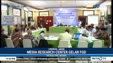 Media Research Center Gelar FGD Bahas Budaya Nasional Berbasis