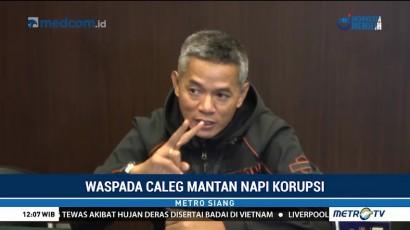 KPU Coret 5 Bacaleg Mantan Napi Kasus Korupsi
