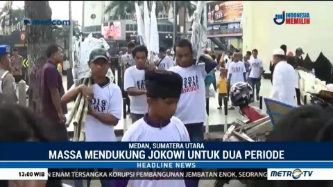Warga Medan Deklarasikan Dukungan untuk Jokowi