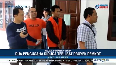 Kejati Sumut Tangkap Dua Pengusaha Buronan Kasus Korupsi