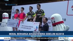 Ahsan/Hendra Raih Juara Singapore Open 2018