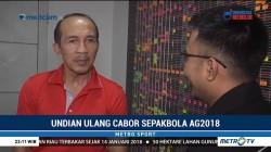 INASGOC akan Undi Ulang Cabor Sepak Bola Asian Games