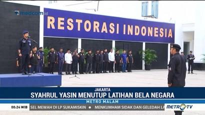 Syahrul Yasin Limpo Tutup Latihan Bela Negara Kostranas