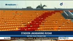 Stadion Jakabaring Rusak