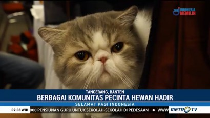 Komunitas Pecinta Hewan Ramaikan Indonesia International Pet Expo 2018
