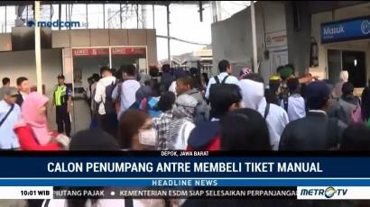 Perbaikan E-Ticketing KRL Berlangsung hingga 6 Hari