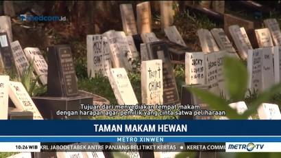 Melihat Taman Makam Satwa Milik Pondok Pengayom Satwa