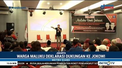 Warga Maluku di Jakarta Dukung Jokowi Dua Periode